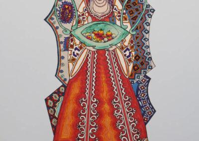 Lazarka Arancione 2 – rif. A23