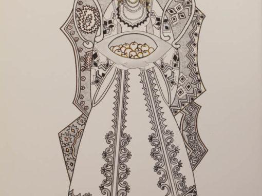 Lazarka Grafica d'Inverno. rif. A31