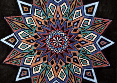 Decorazione Geometrica 9  rif. G14