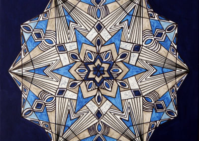 Fantasia Geometrica 4  rif. G16