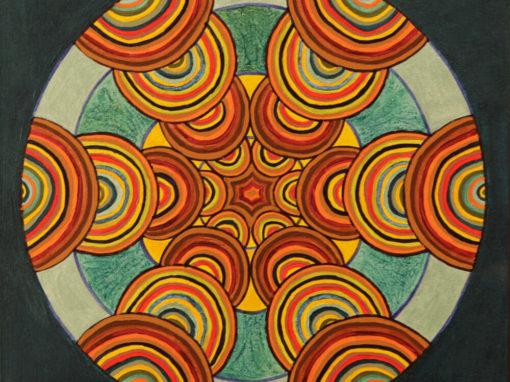 Fantasia Geometrica 7  rif. G27