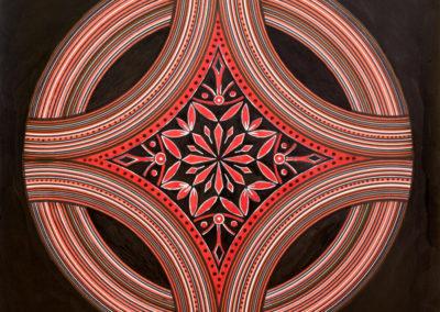 Ornamenti Rosso e Nero  rif. G32