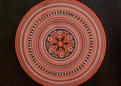 Cerchi Concentrici con Ornamento  rif. G33