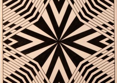 Triangoli in Bianco Nero rif. H2