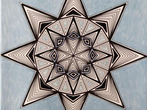 Ottagono con Triangoli rif. H8