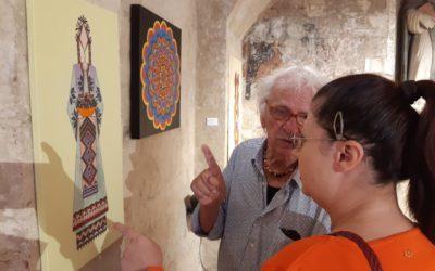 """Mostra """"Sentimento geometrico"""" nella chiesa Sant'Antonio Abate nei Sassi di Matera"""